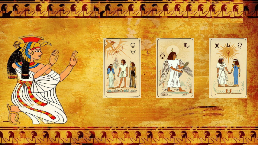 tarot egyptien amour